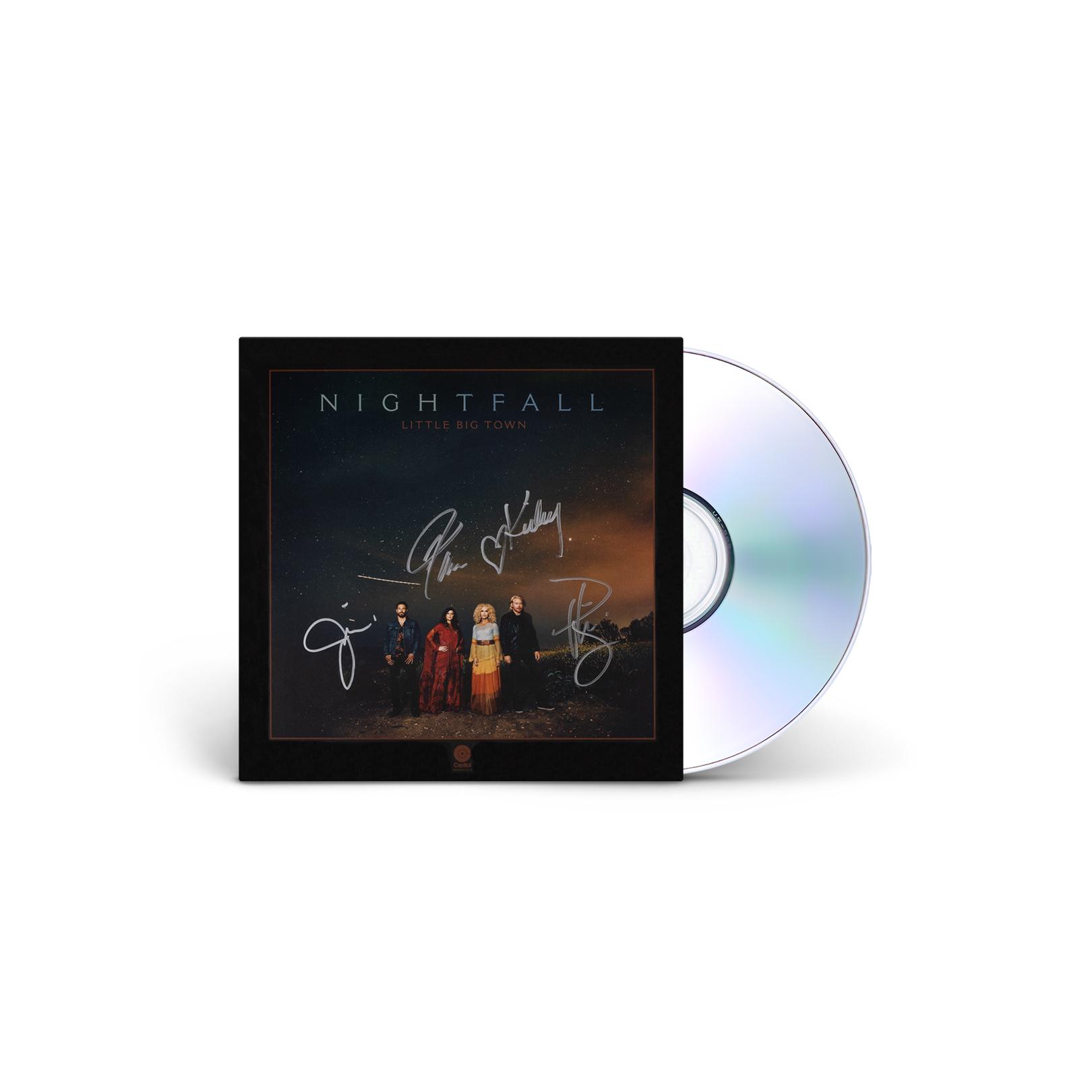 SIGNED NIGHTFALL CD