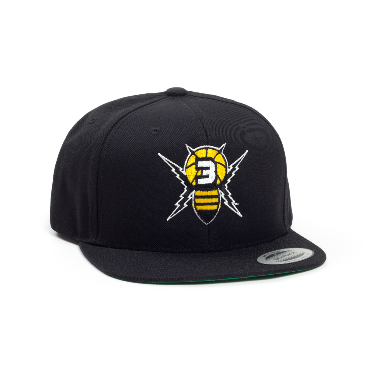 Killer 3's - Black Flatbrim Hat