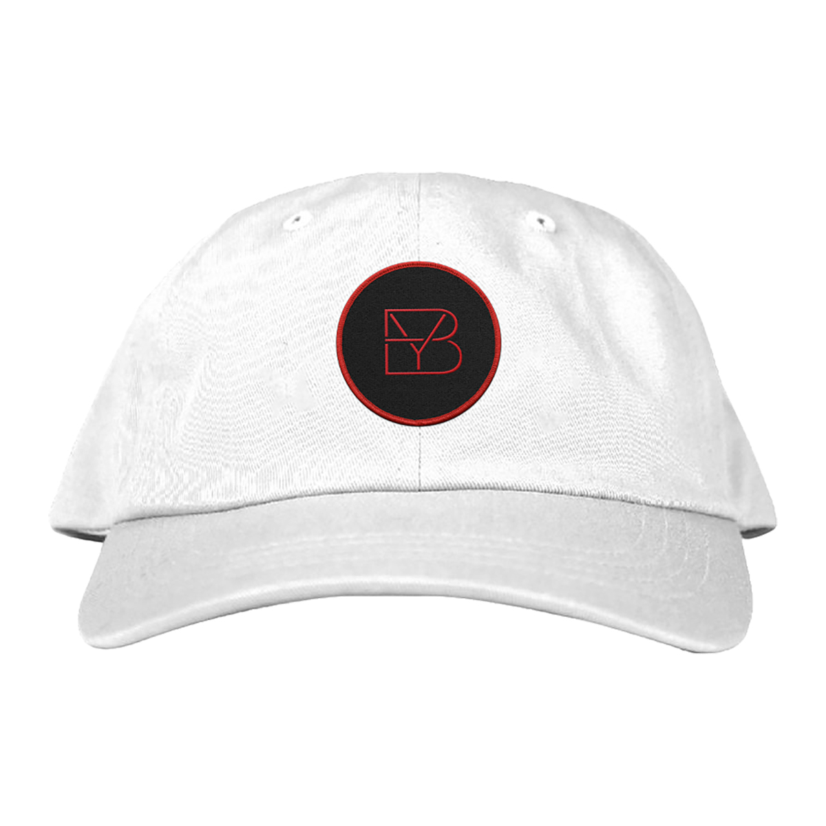 White Brett Young Logo Dad Hat