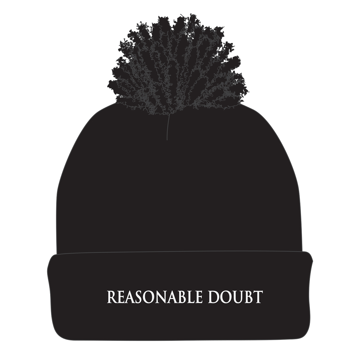 Reasonable Doubt Pom Beanie