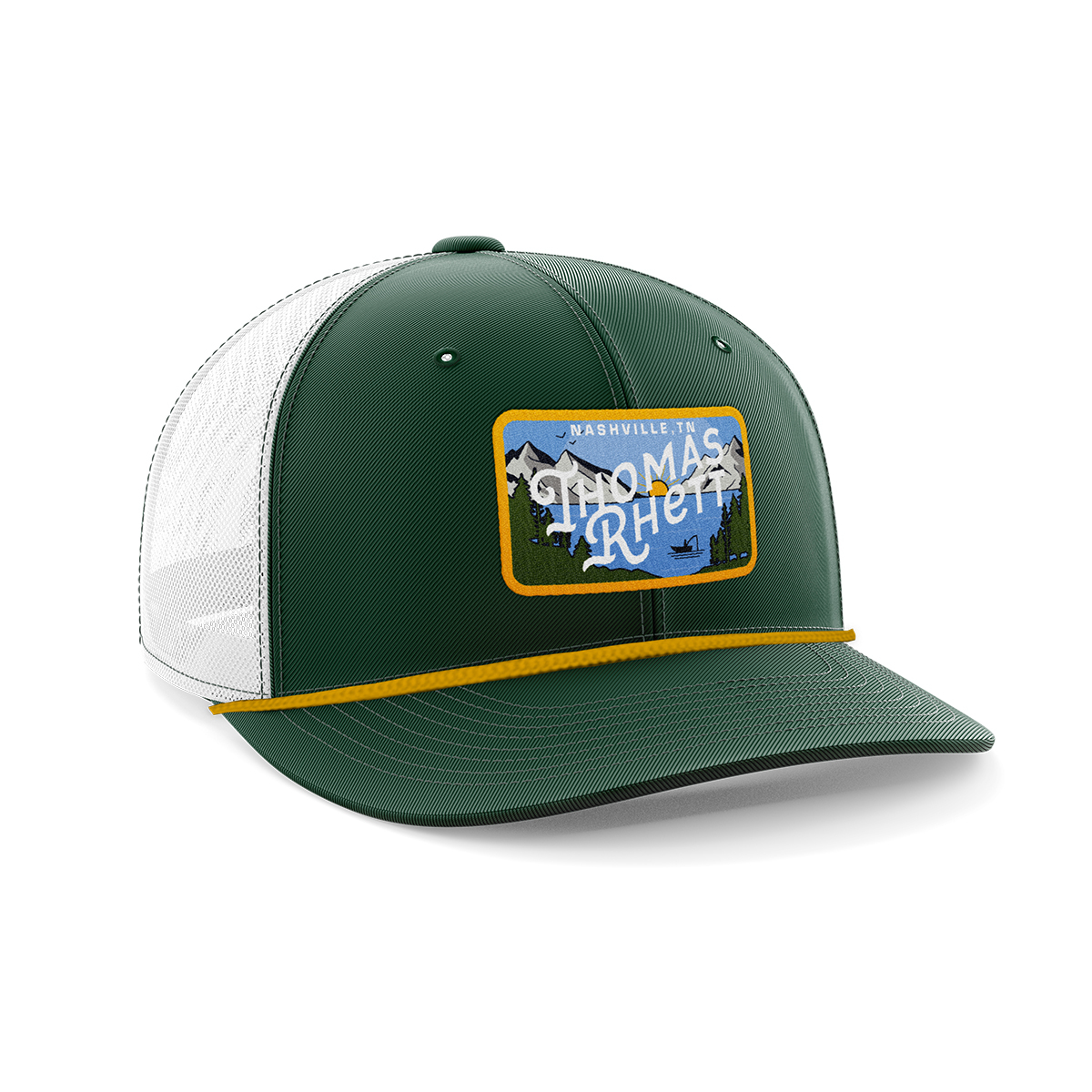 Mountain Fishing Trucker Hat