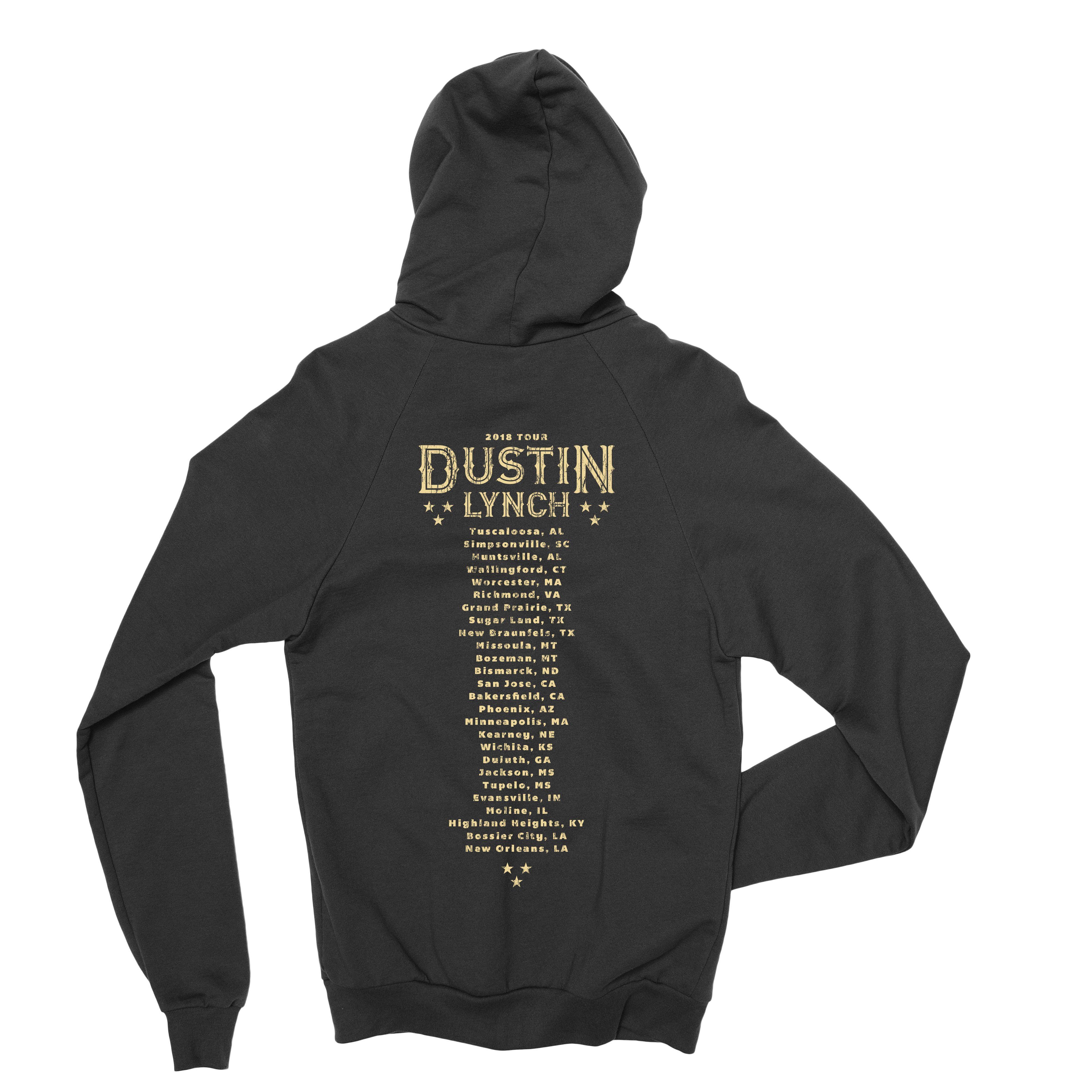 Dustin Lynch Emblem Dateback Hoodie