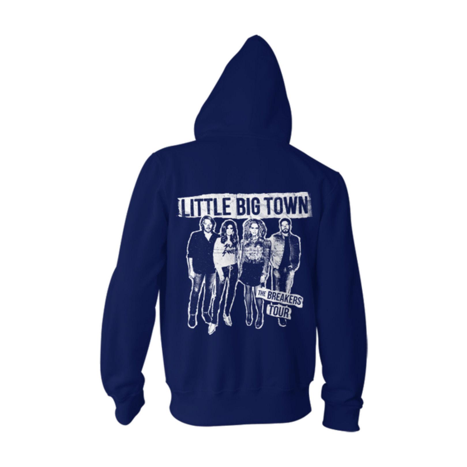 The Breakers Tour Royal Blue Zip Sweatshirt