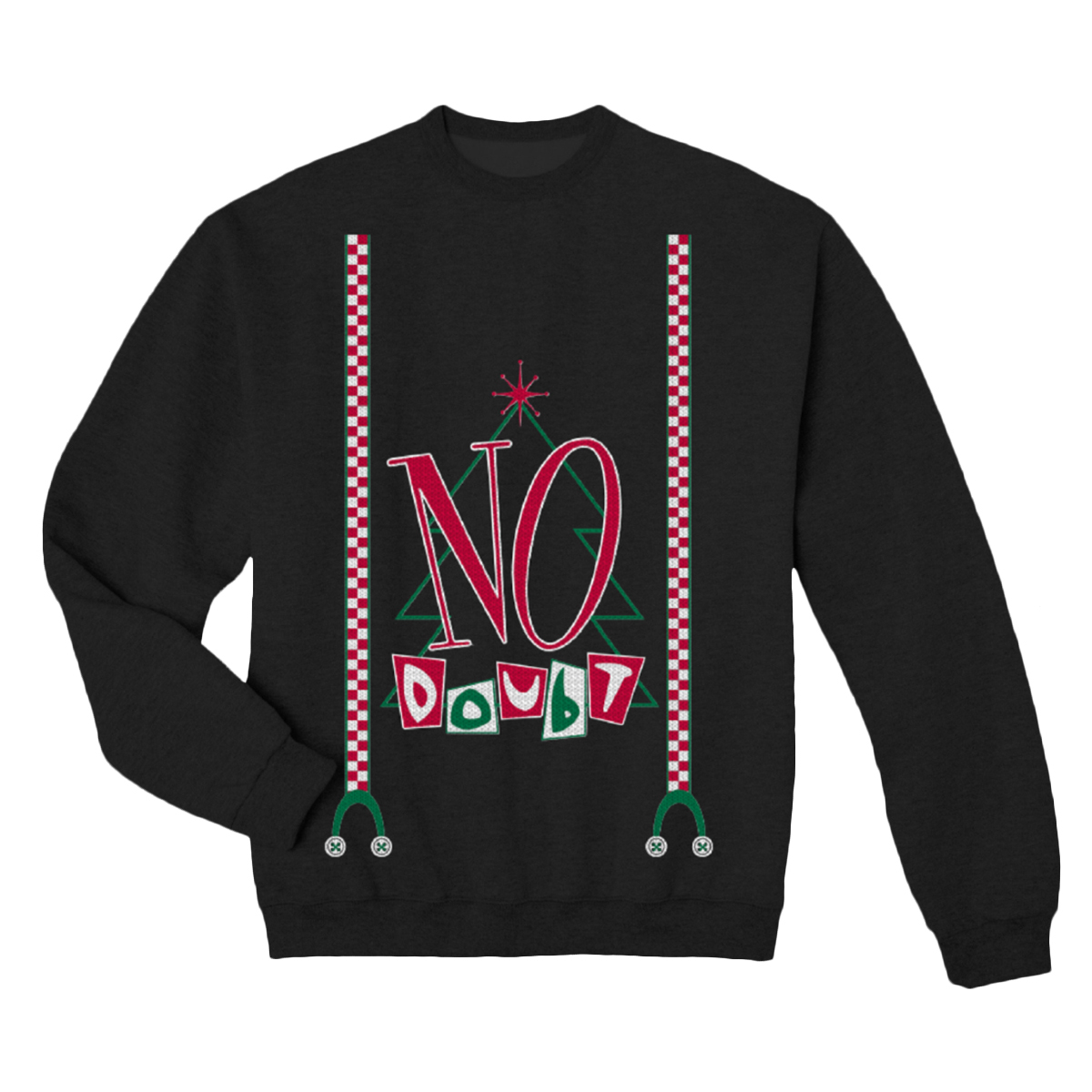 No Doubt Ugly Sweater Holiday Crewneck