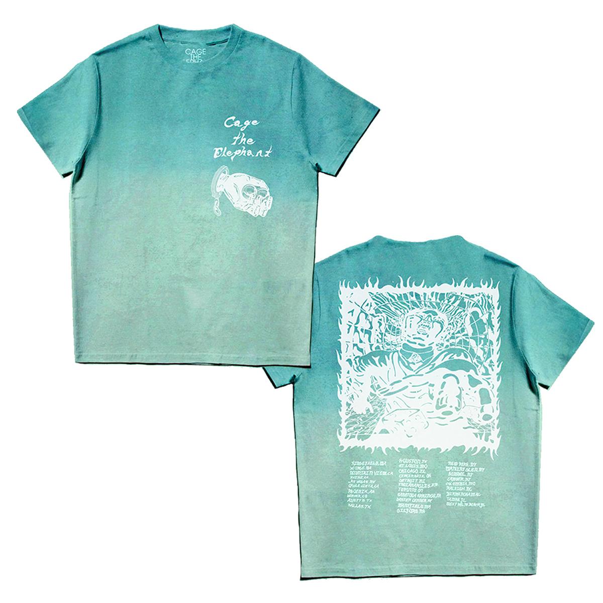 Ombre Blue Dateback T-Shirt