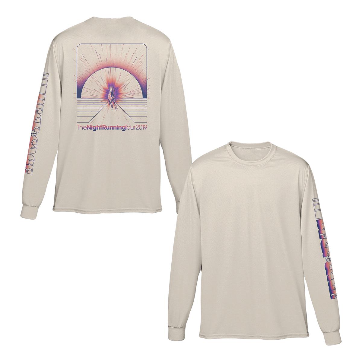 The Night Running Tour Long Sleeve T-Shirt