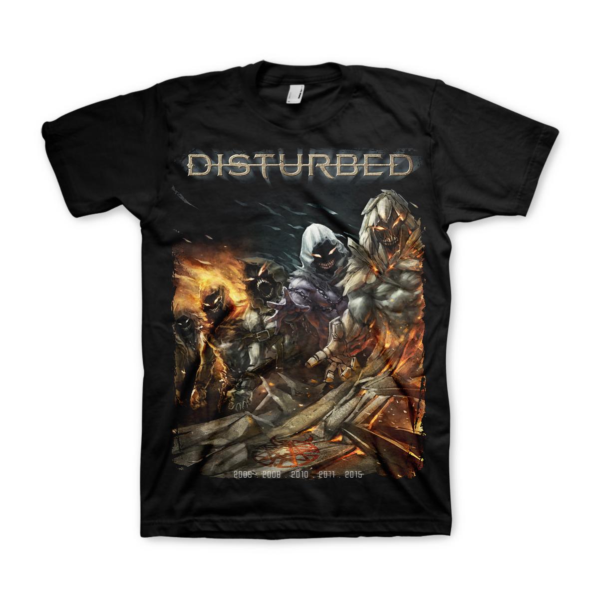 Disturbed Evolution Black T-Shirt