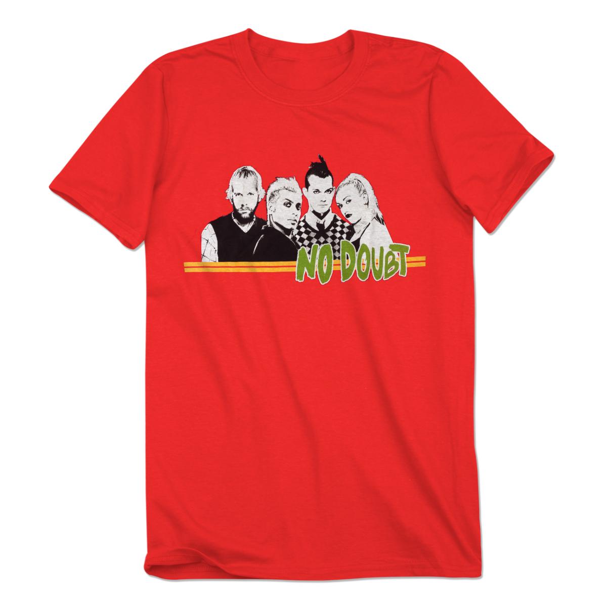 Red Stripe Men's T-Shirt