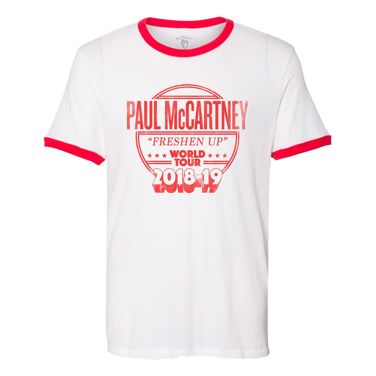 Freshen Up 2018-19 Tour Ringer T-Shirt