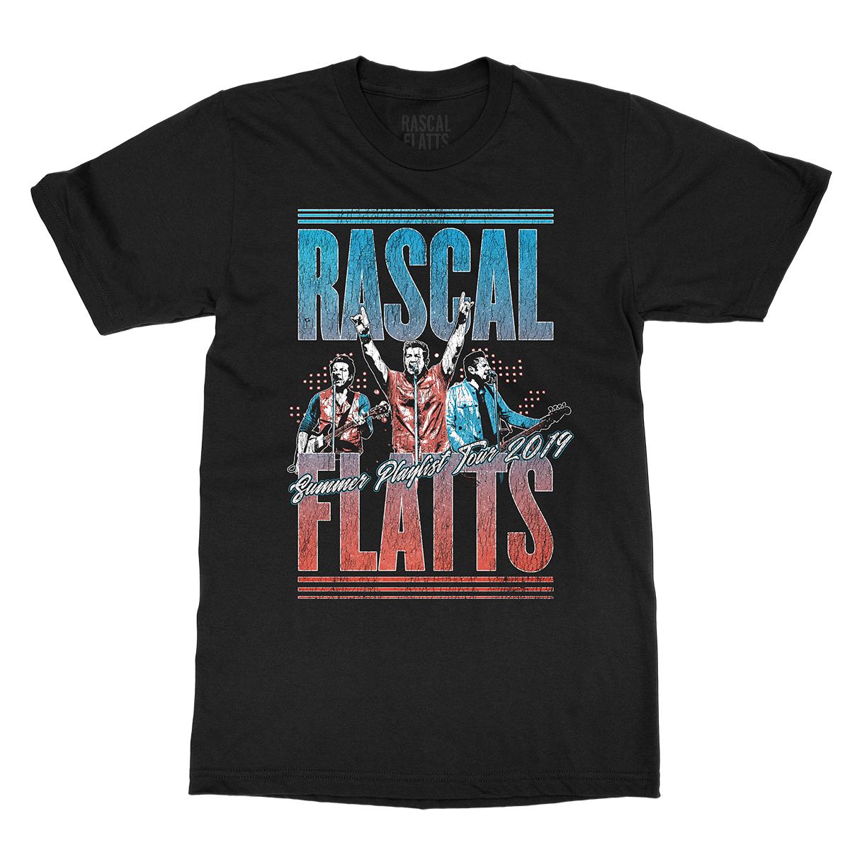 Summer Playlist Tour Black Photo T-Shirt