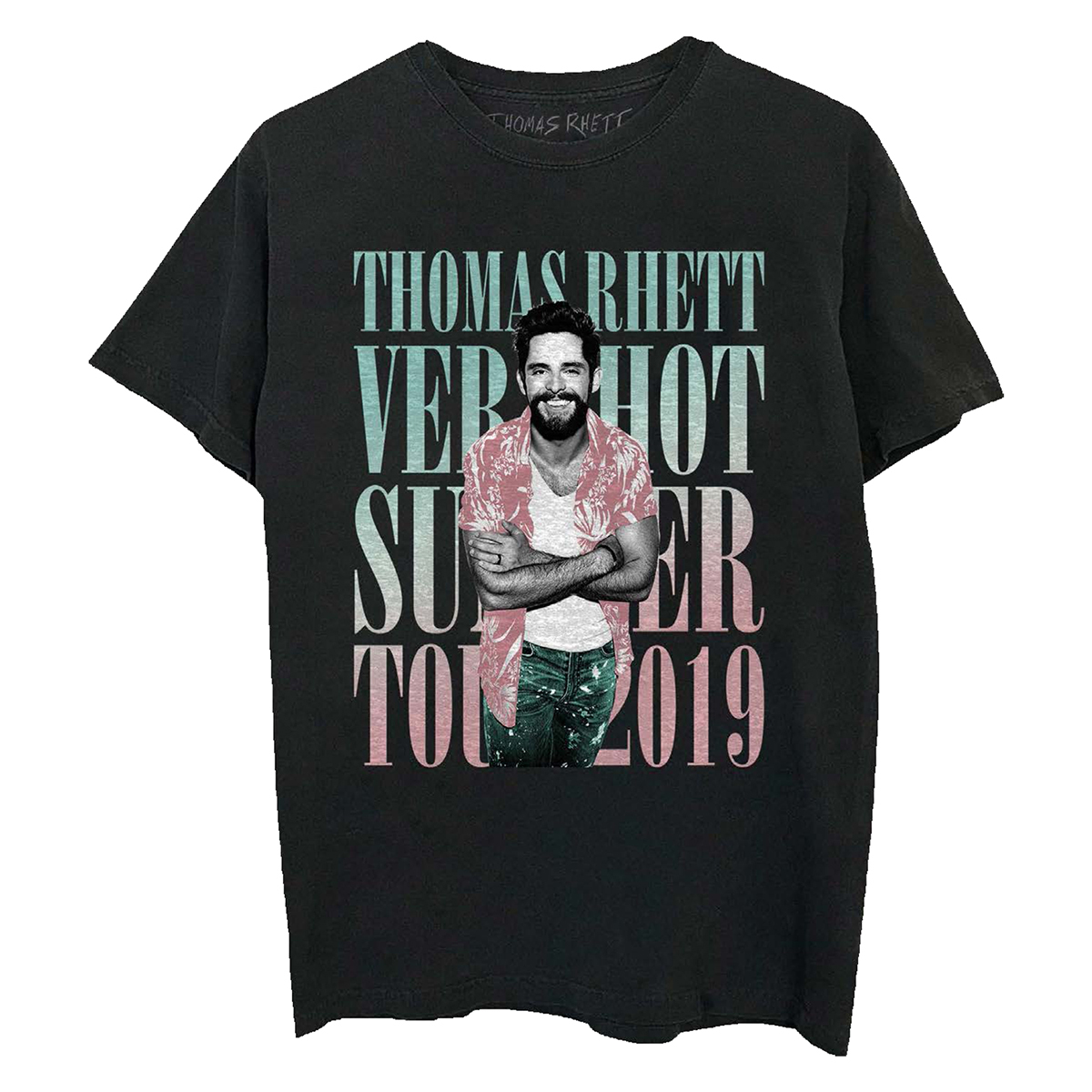 VHS 2019 Tour Black T-Shirt