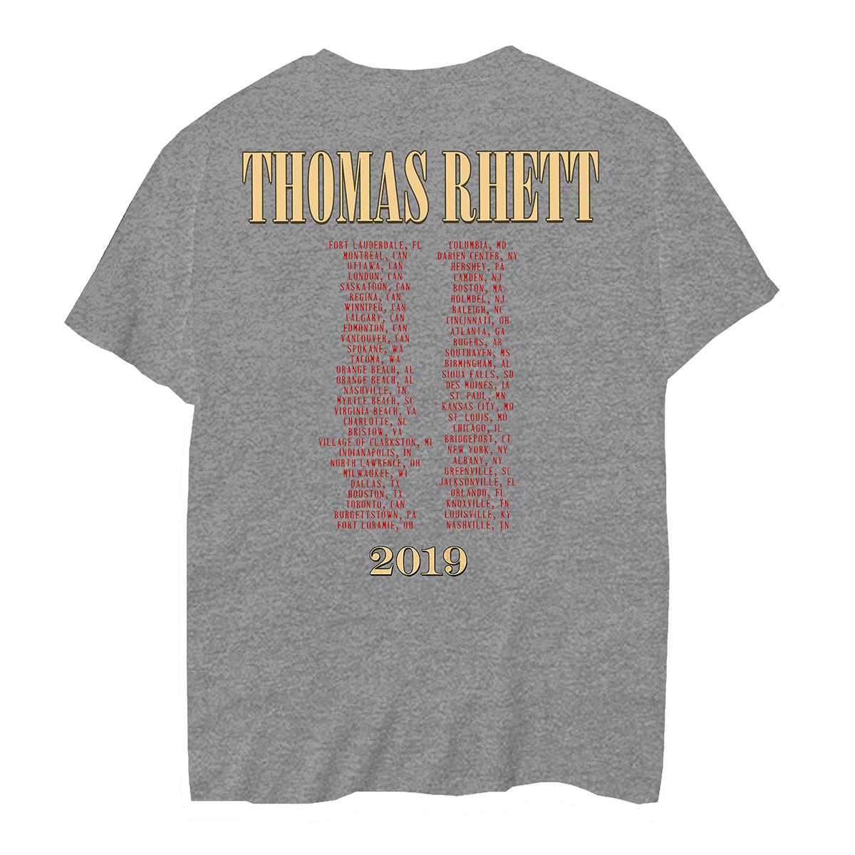 Brewed in Nashville Grey T-Shirt
