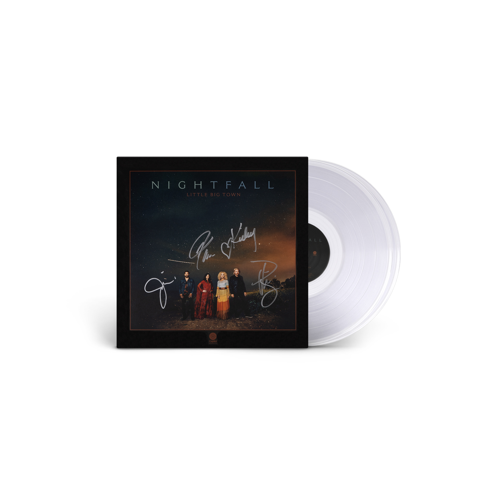 SIGNED NIGHTFALL VINYL (LIMITED EDITION CLEAR)