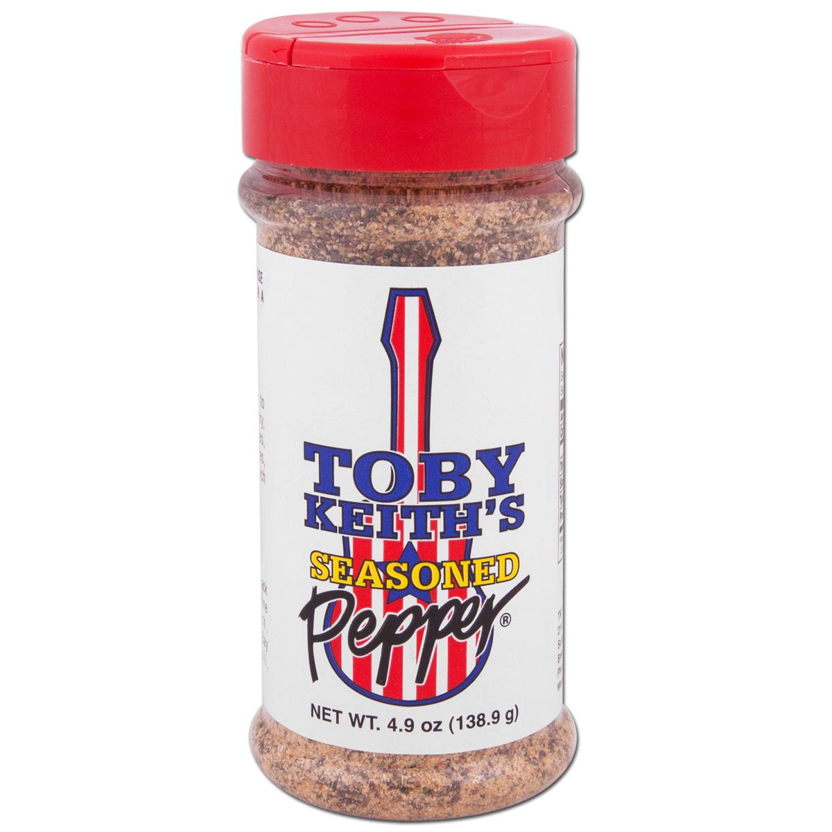 Toby Keith - Seasoned Pepper 4.9oz