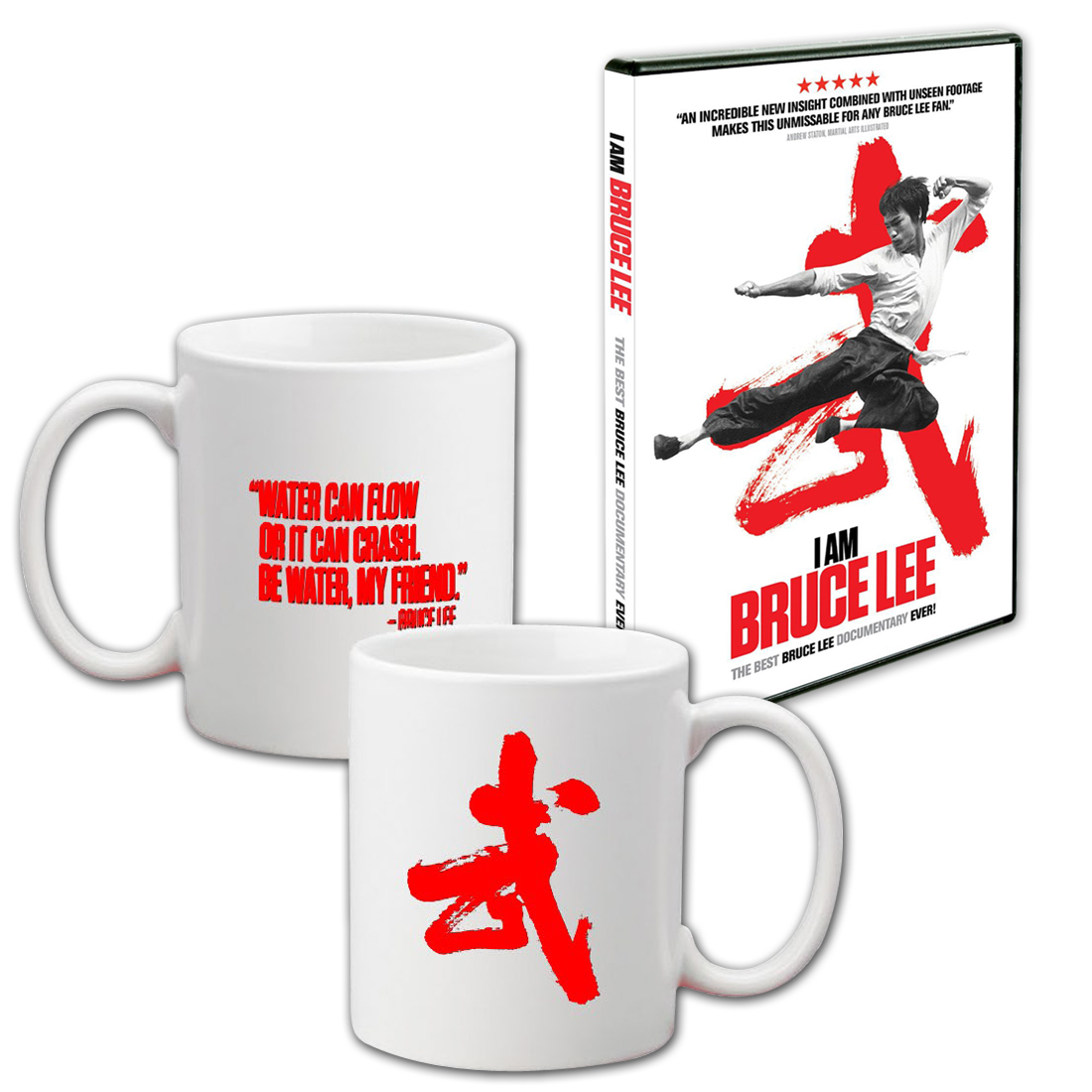 I Am Bruce Lee Mug/DVD Combo