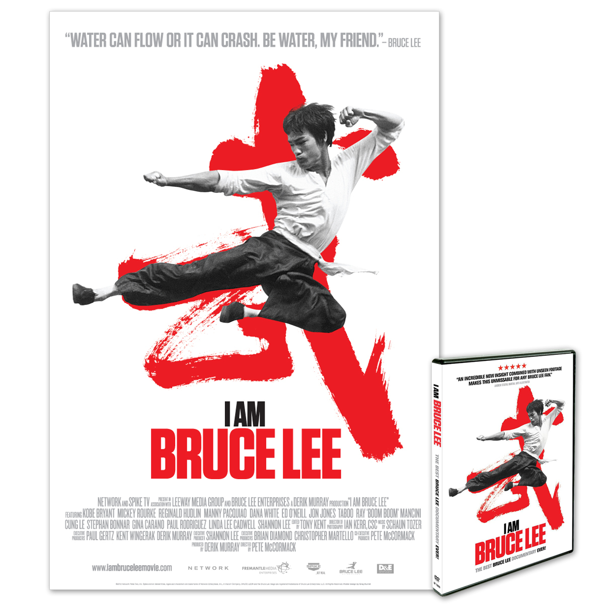 I Am Bruce Lee Poster/DVD Combo