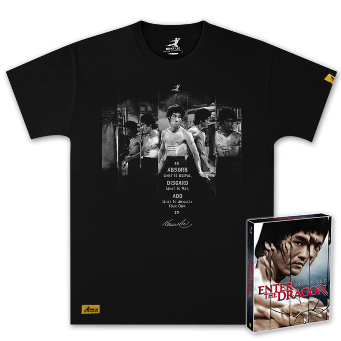 40th Anniversary Enter the Dragon BluRay and Exclusive T-Shirt Combo Pack