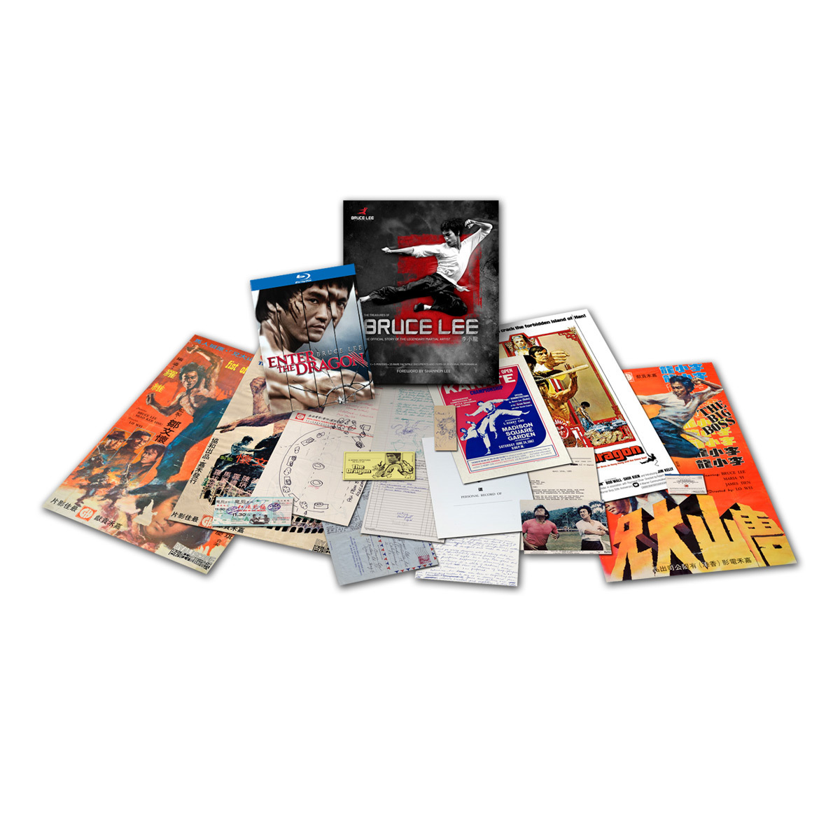 Bruce Lee Enter the Dragon 40th Anniversary BluRay and The Treasures of Bruce Lee Book Combo Pack