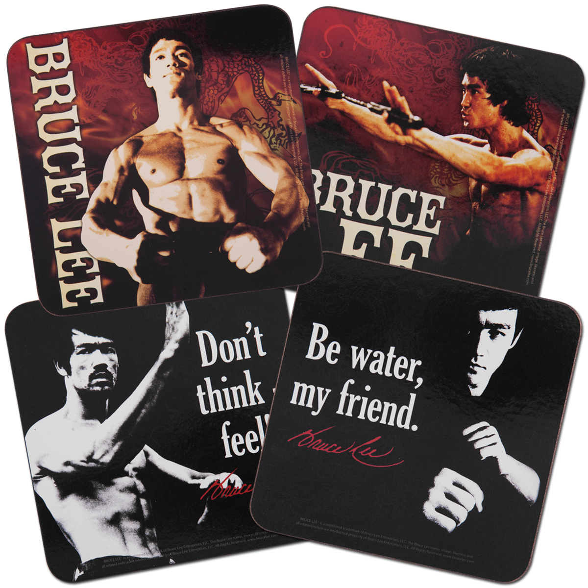 Bruce Lee Coaster Set