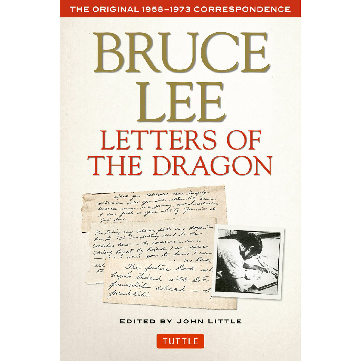XL Bruce Lee Letters Of The Dragon Book