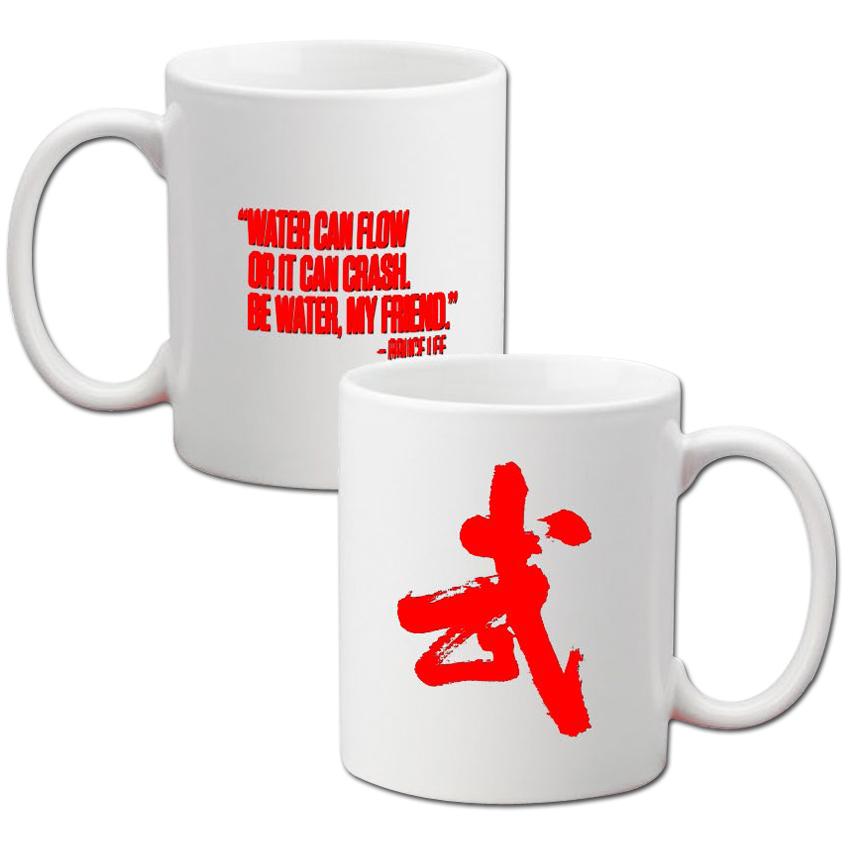 XL I Am Bruce Lee 11oz Mug - White w/Red