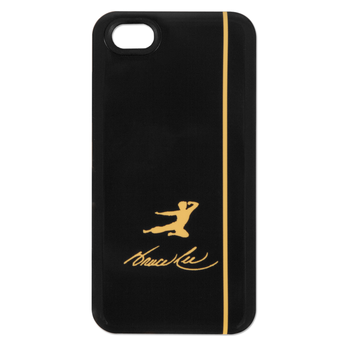 Bruce Lee Yellow Kick Logo iPhone 4/4S Case