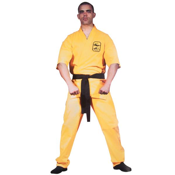 Bruce Lee Yellow Karate Uniform