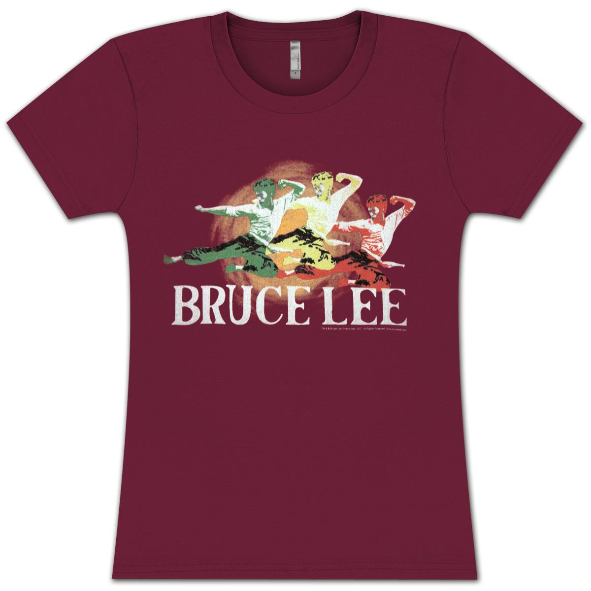 Bruce Lee Tri-Color Junior T-shirt