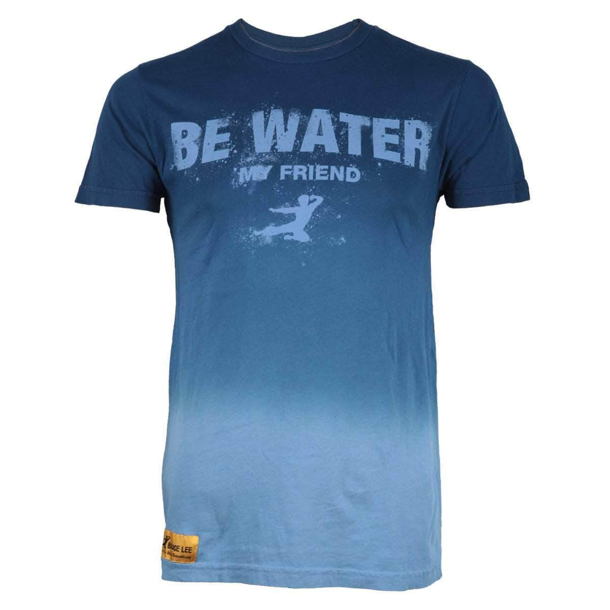 Bruce Lee Be Water Dyed T-shirt