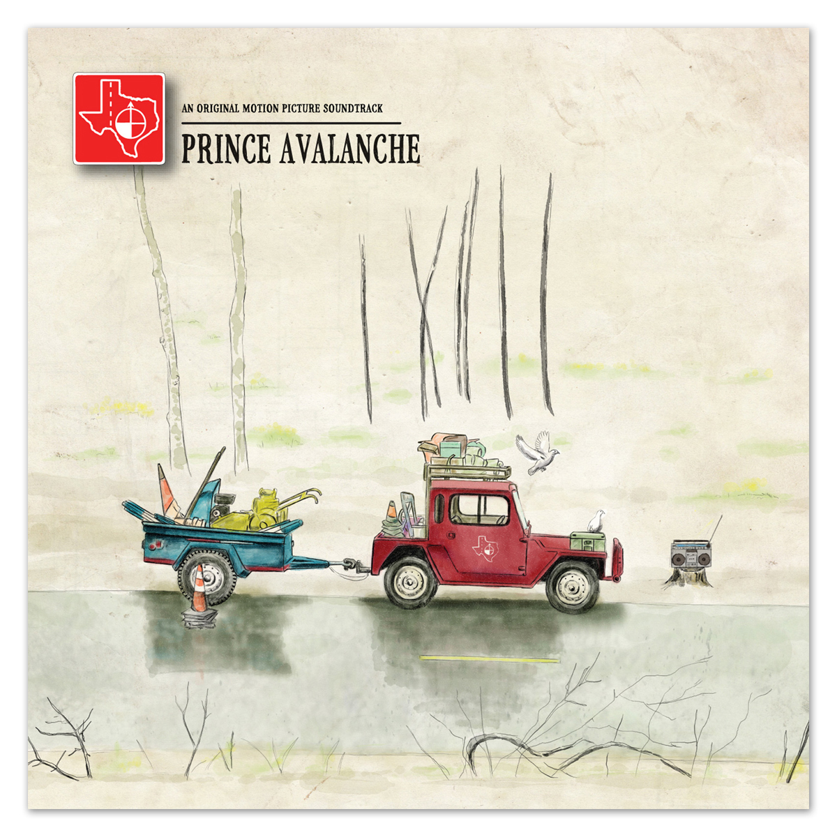 Explosions In The Sky & David Wingo - Prince Avalanche: Soundtrack