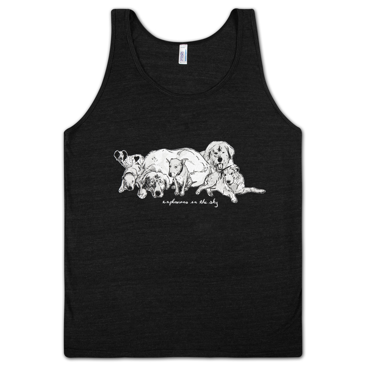 Explosions In The Sky Dogs Tank Top