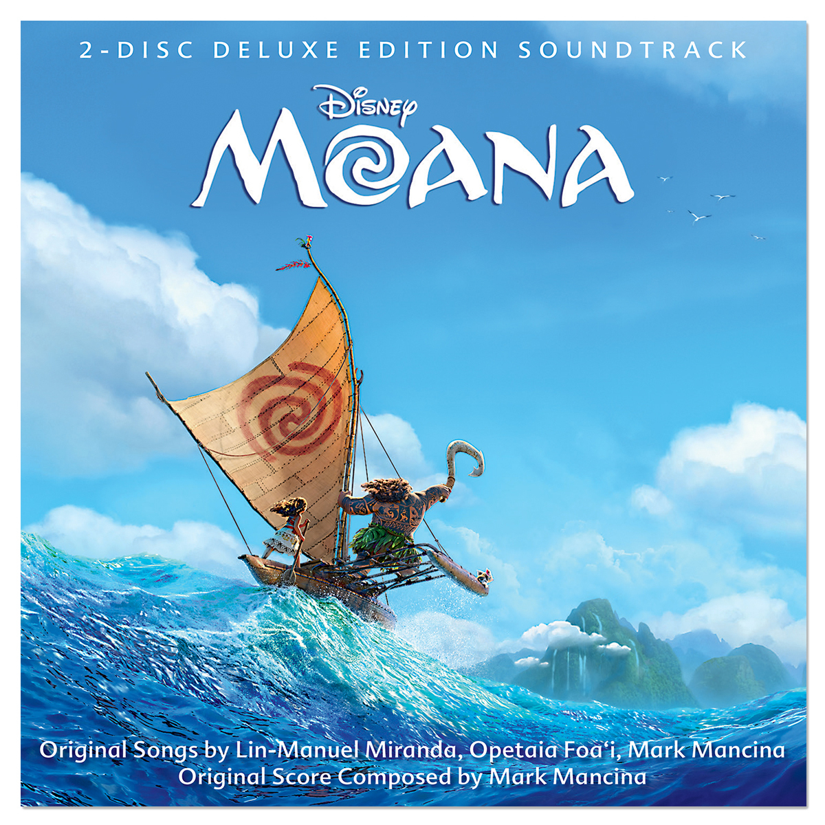 Moana Deluxe Edition Soundtrack