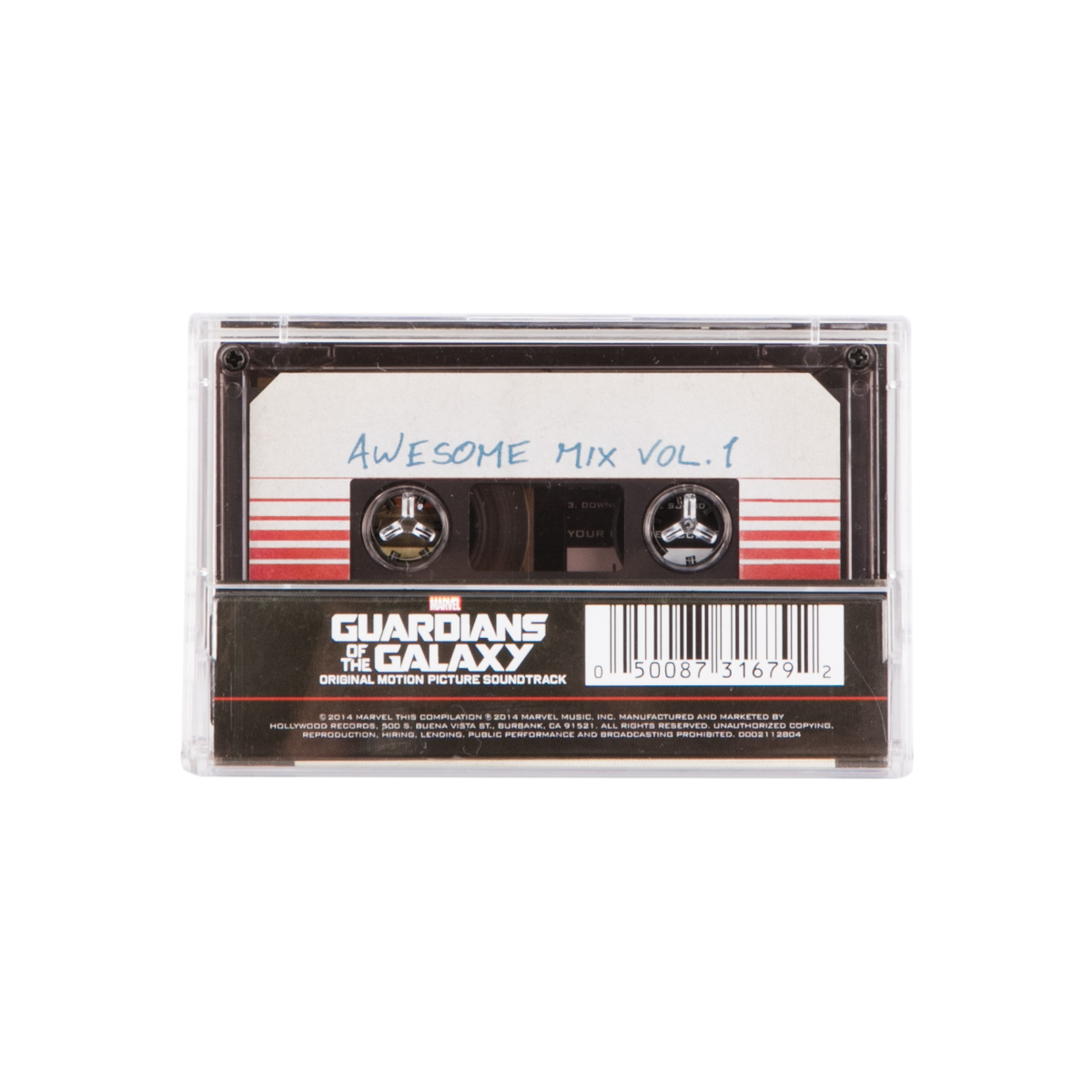 Guardians of the Galaxy: Awesome Mix, Vol. 1 Cassette