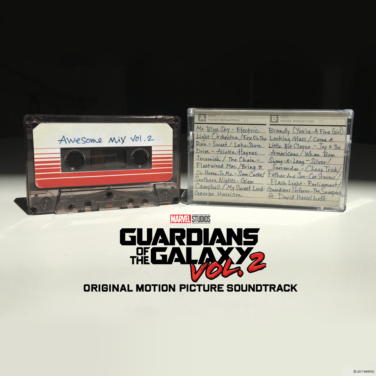 Guardians of the Galaxy Awesome Mix Vol. 2 Cassette