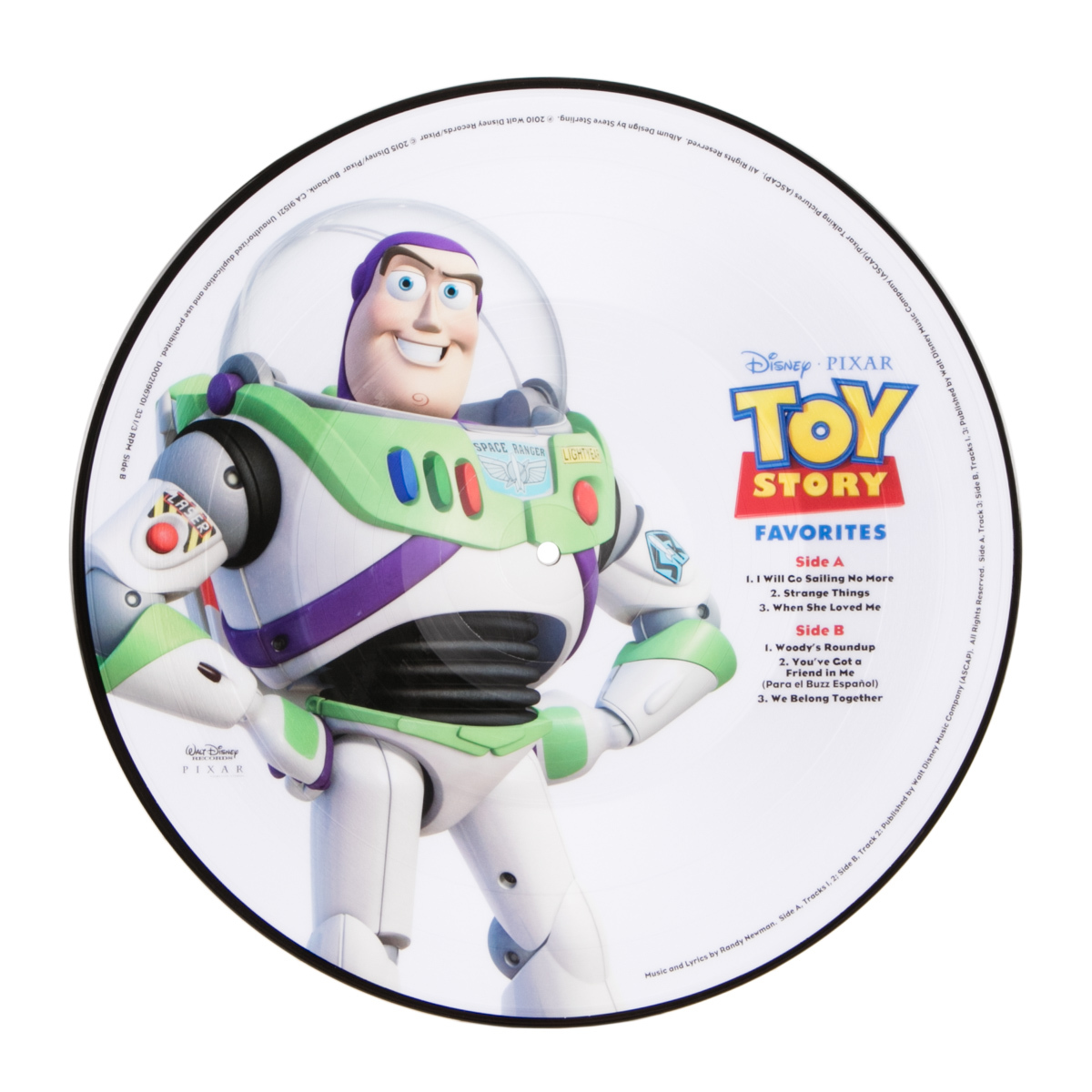 Toy Story Picture Vinyl