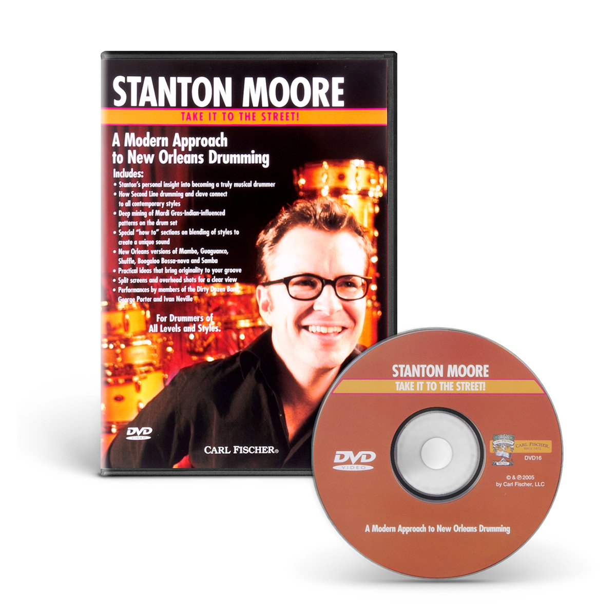 A Modern Approach to New Orleans Drumming (Take It to the Street) DVD