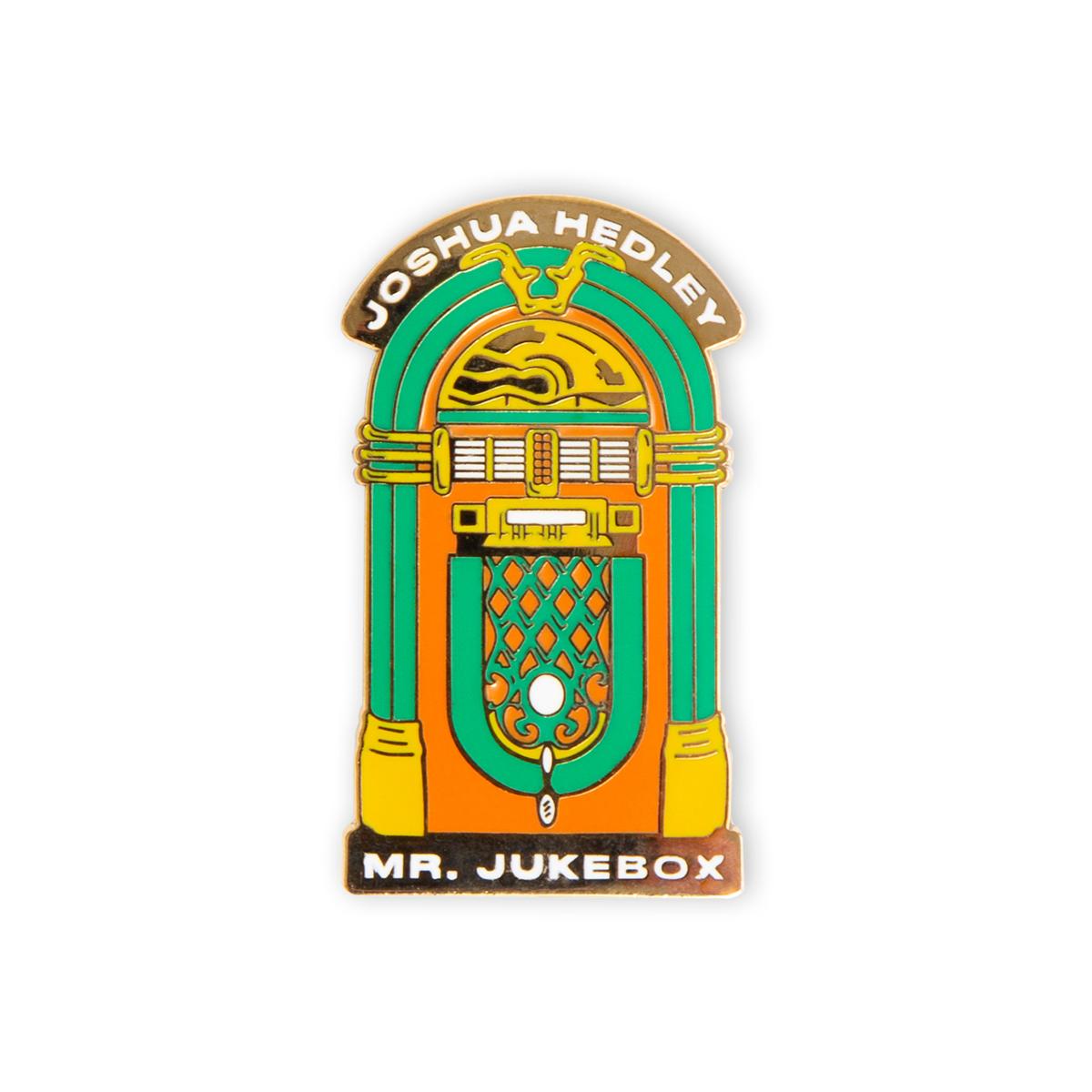 Joshua Hedley - Mr. Jukebox Lapel Pin