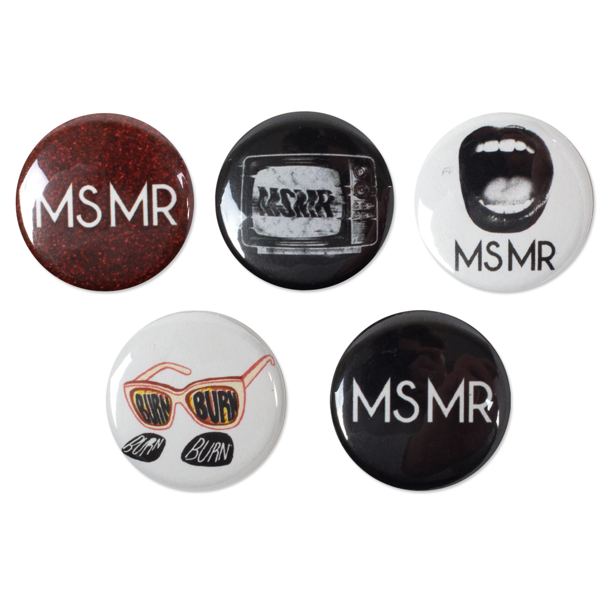 MSMR Button Pack (5)