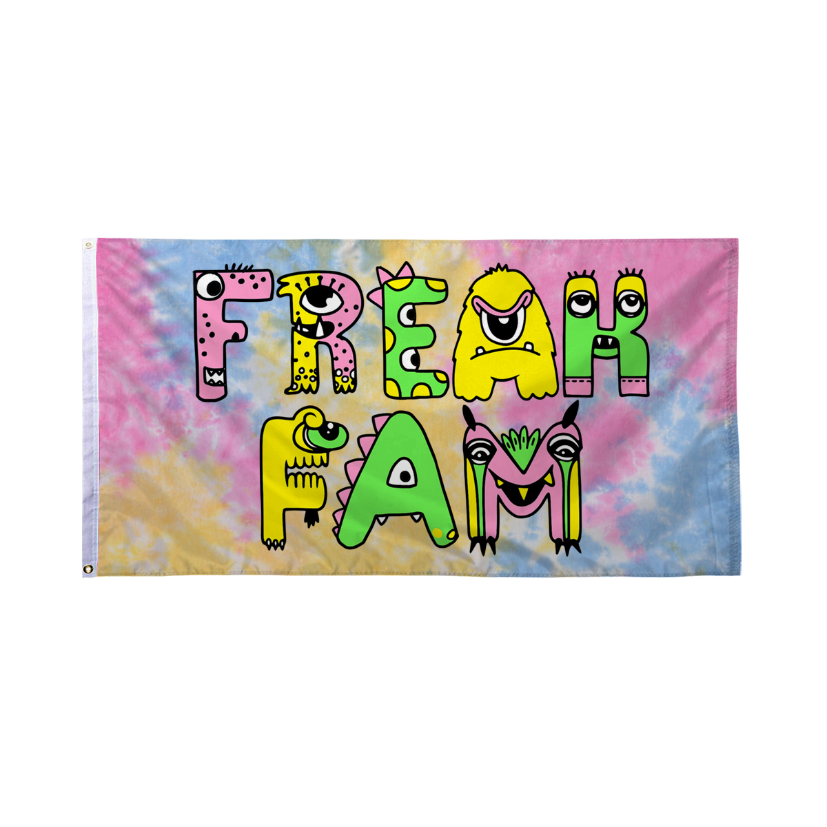 Freak Fam Flag - Sherbert