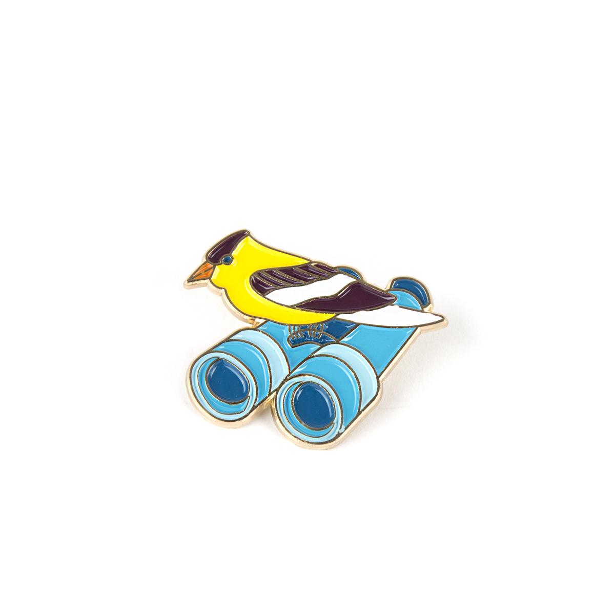 Birdwatcher Pin