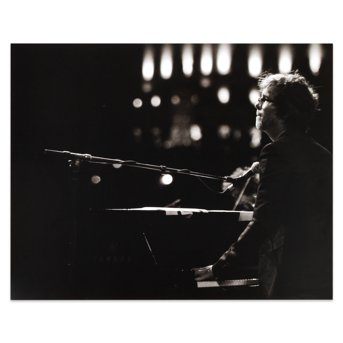Ben Folds Piano Poster