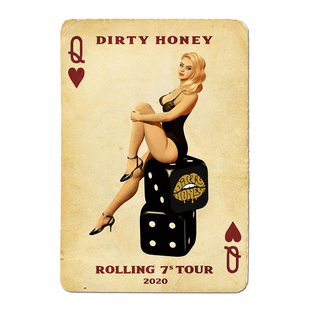 Dirty Honey 2020 Tour Poster