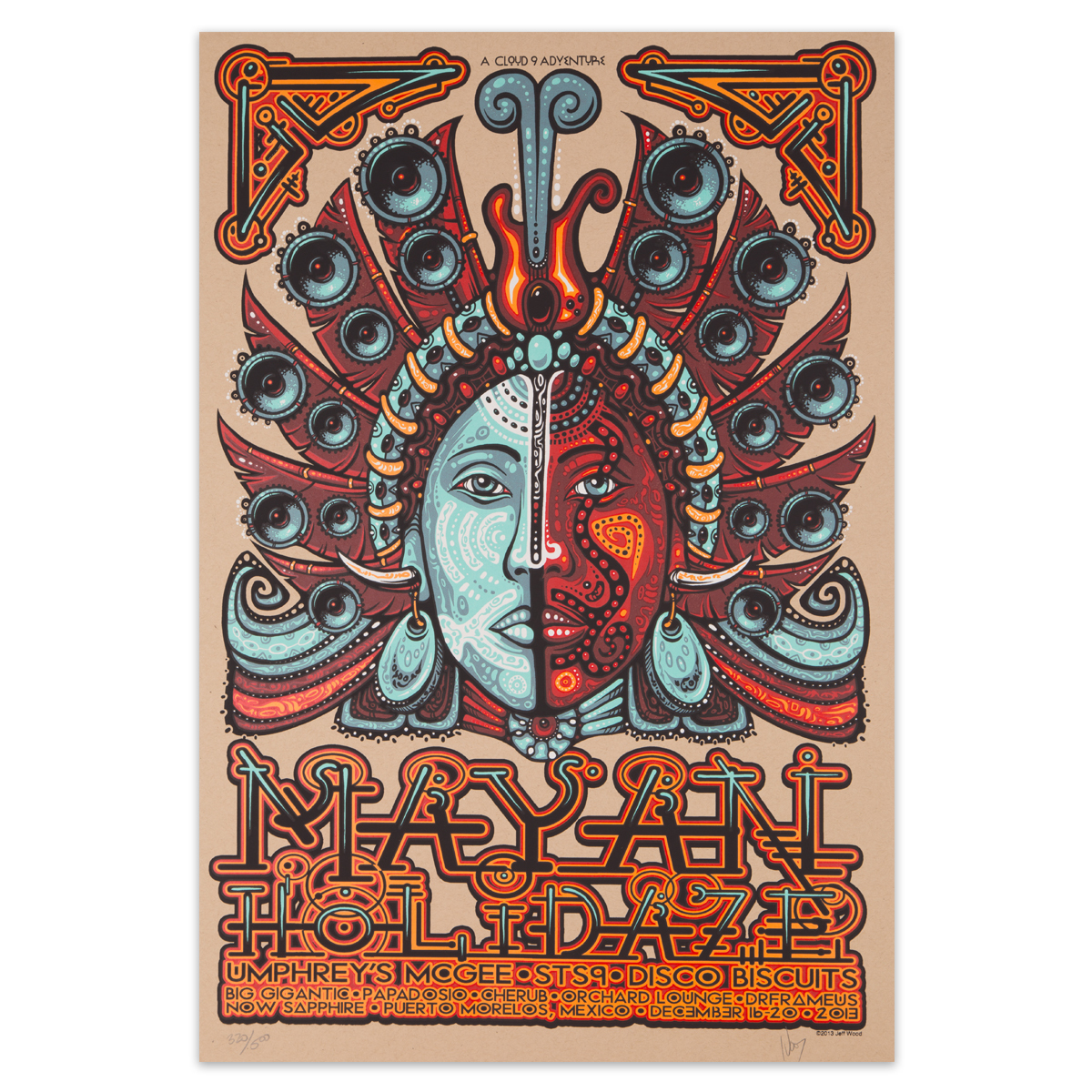 Mayan Holidaze 2013 Poster