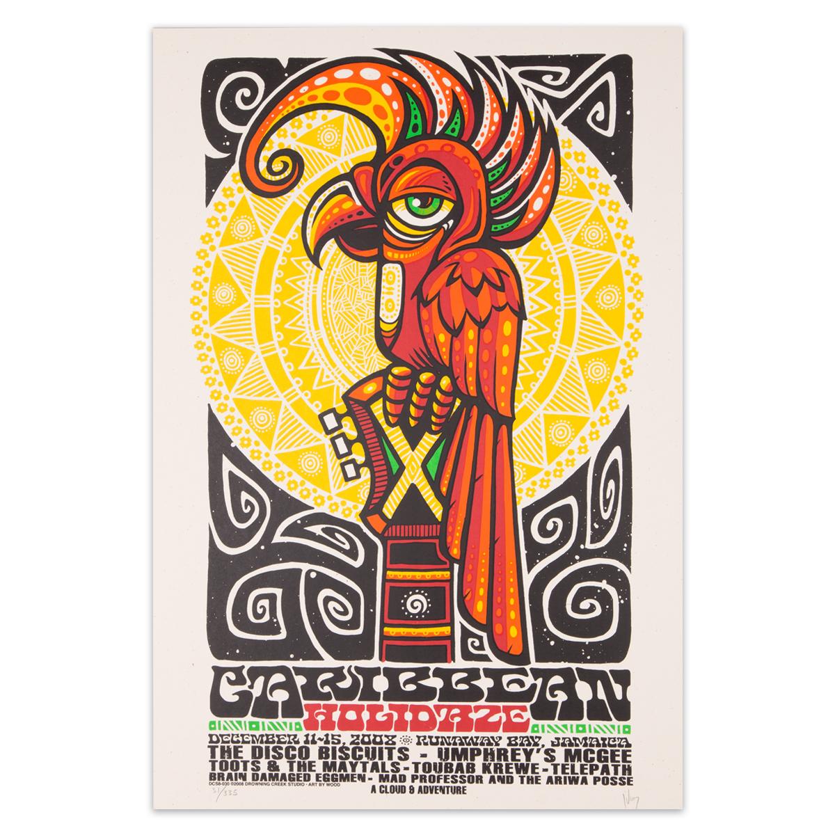 Caribbean Holidaze 2008 Poster
