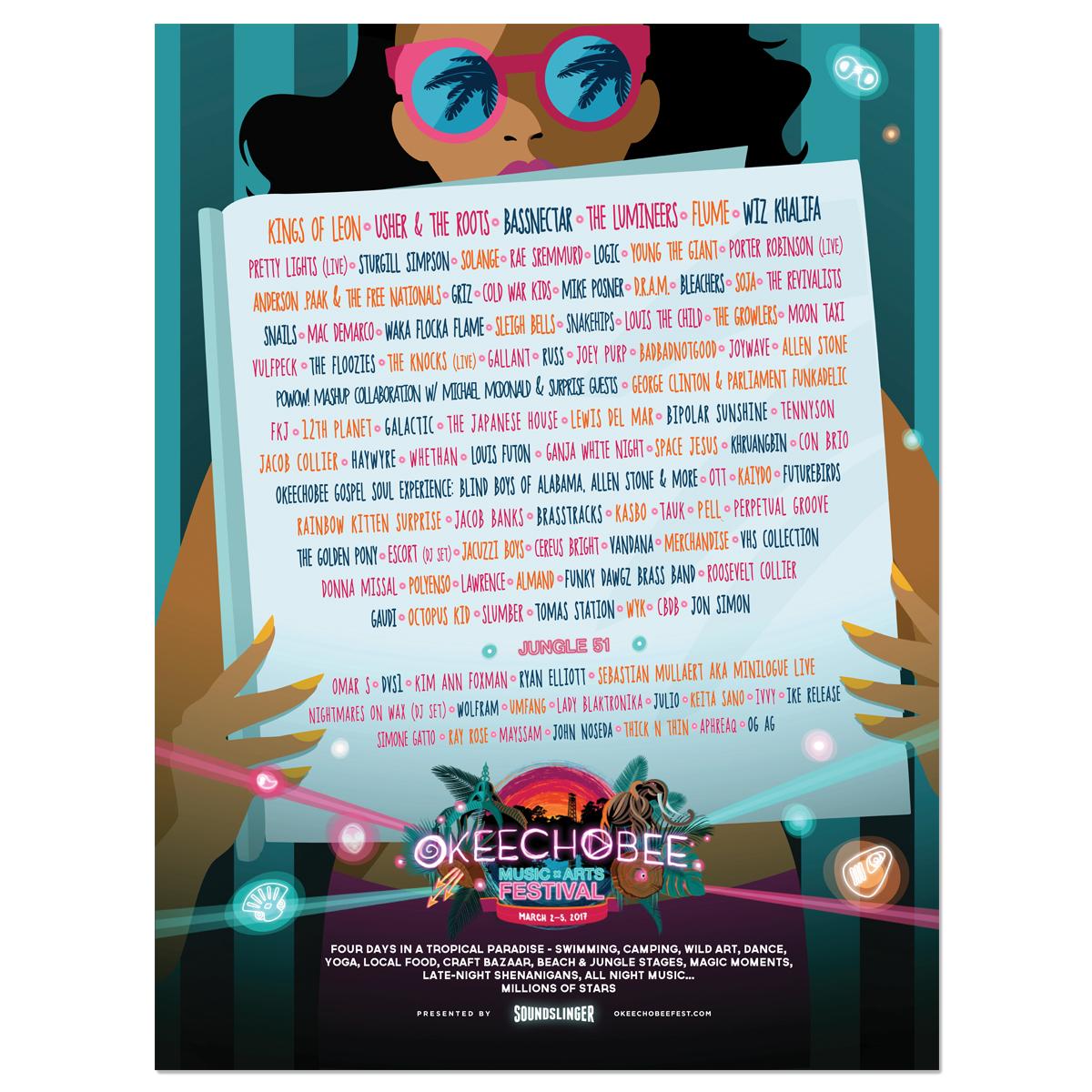 2017 Lineup Poster