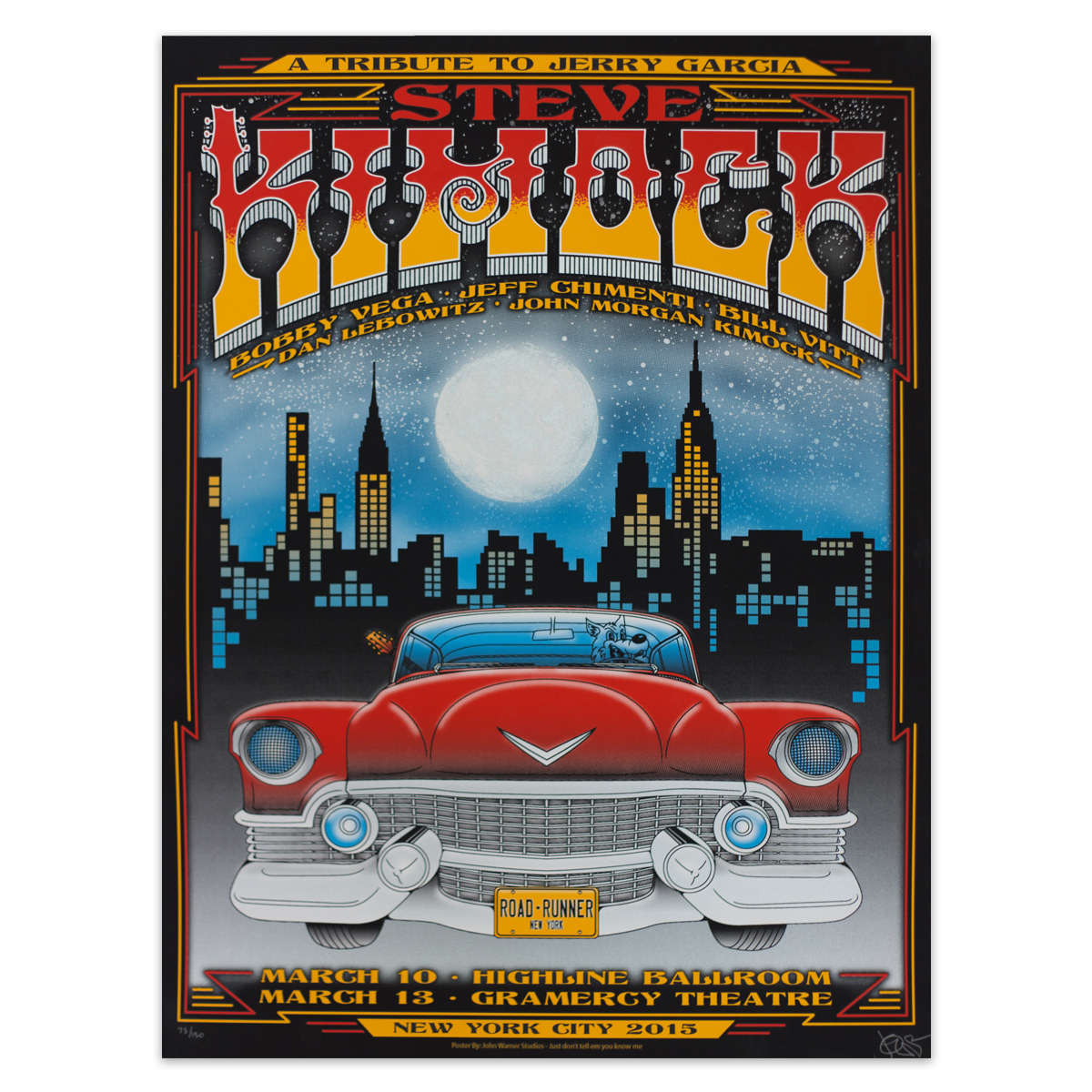 Jerry Garcia Tribute Poster – New York