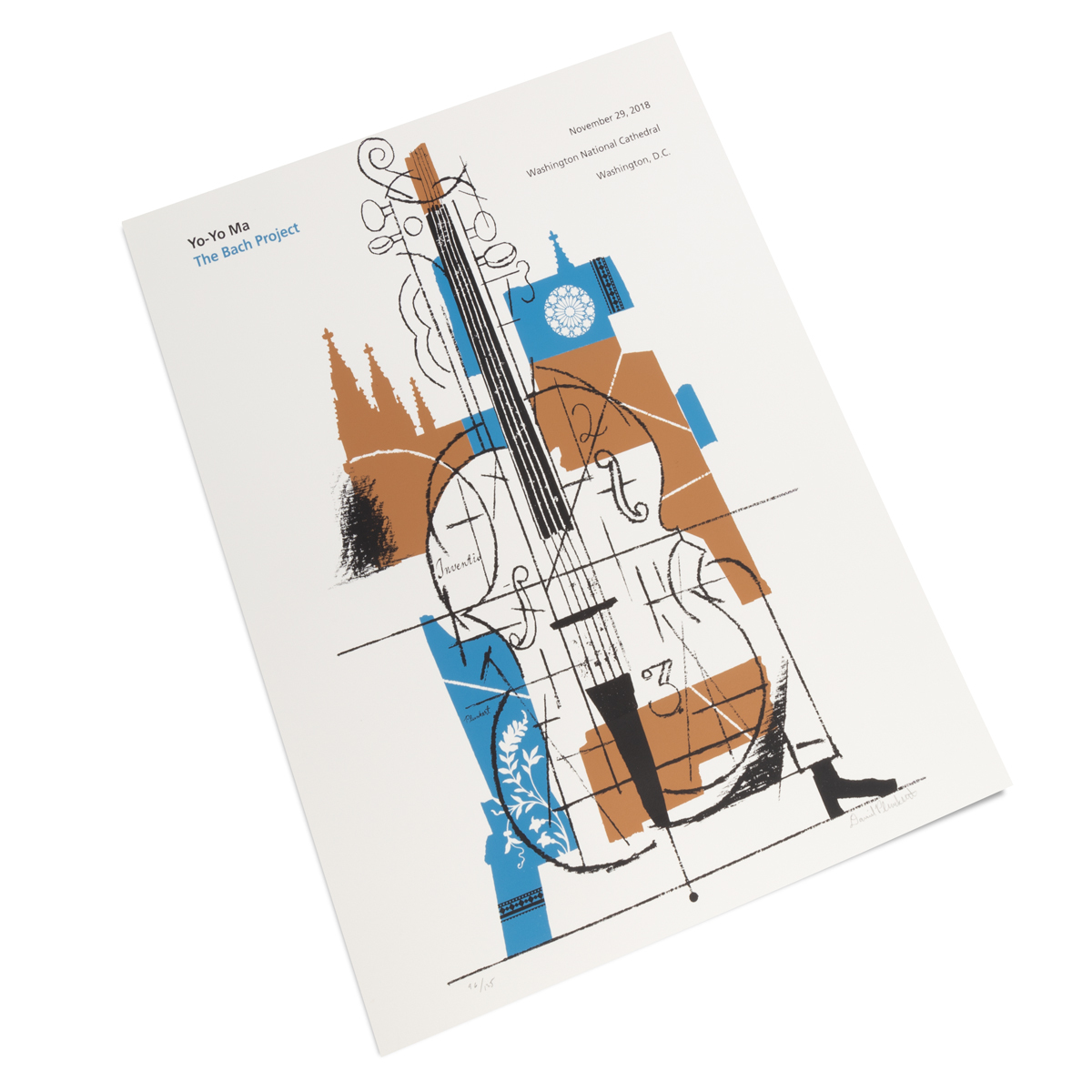 The National Cathedral 2018 Poster by David Plunkert (signed)