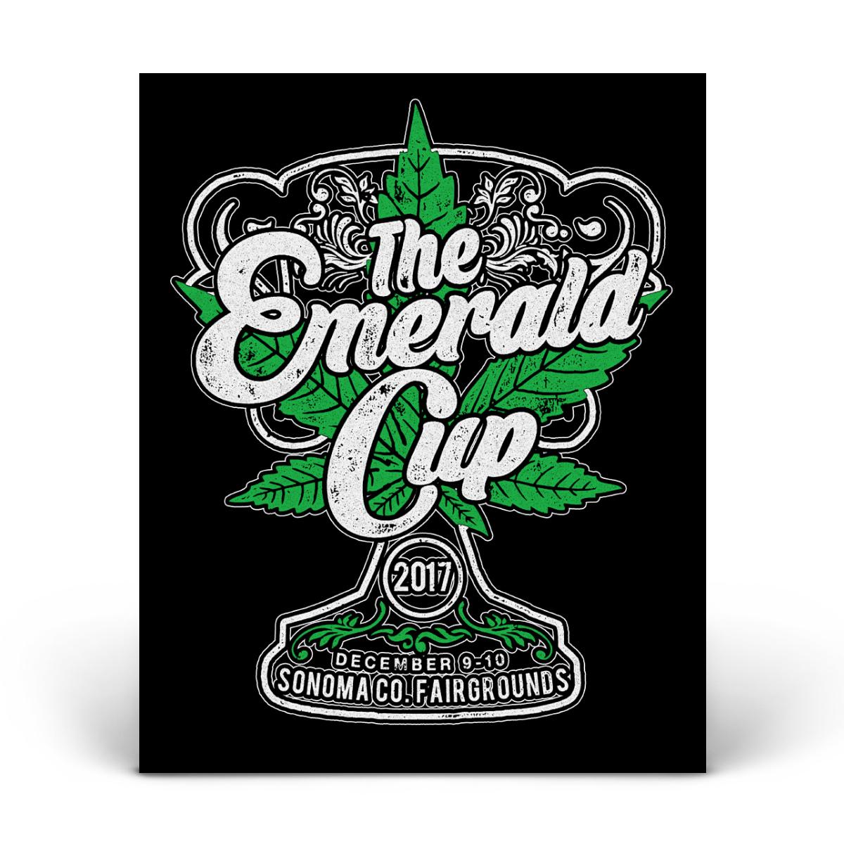 2017 Emerald Cup Event Sticker