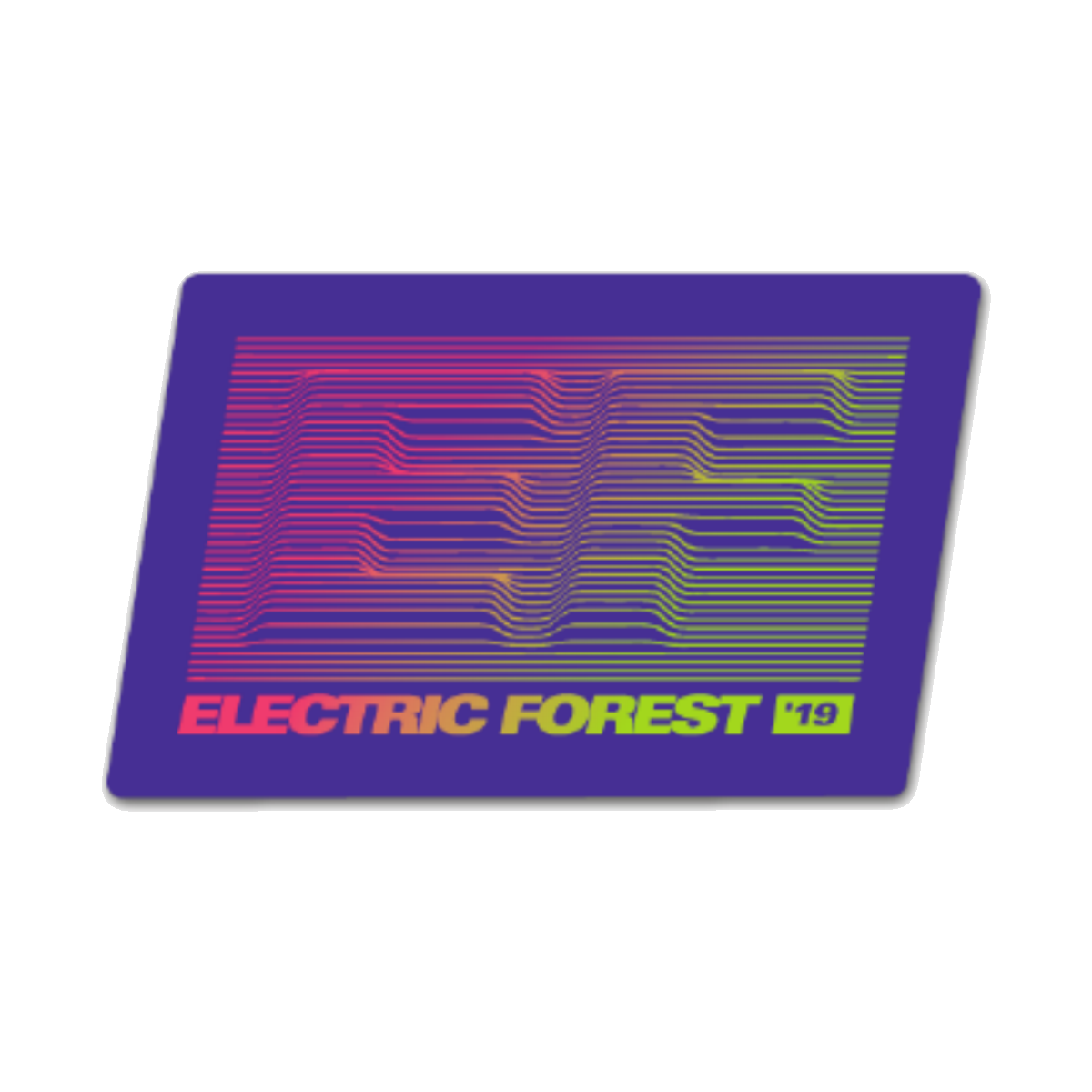 2019 EF Sticker
