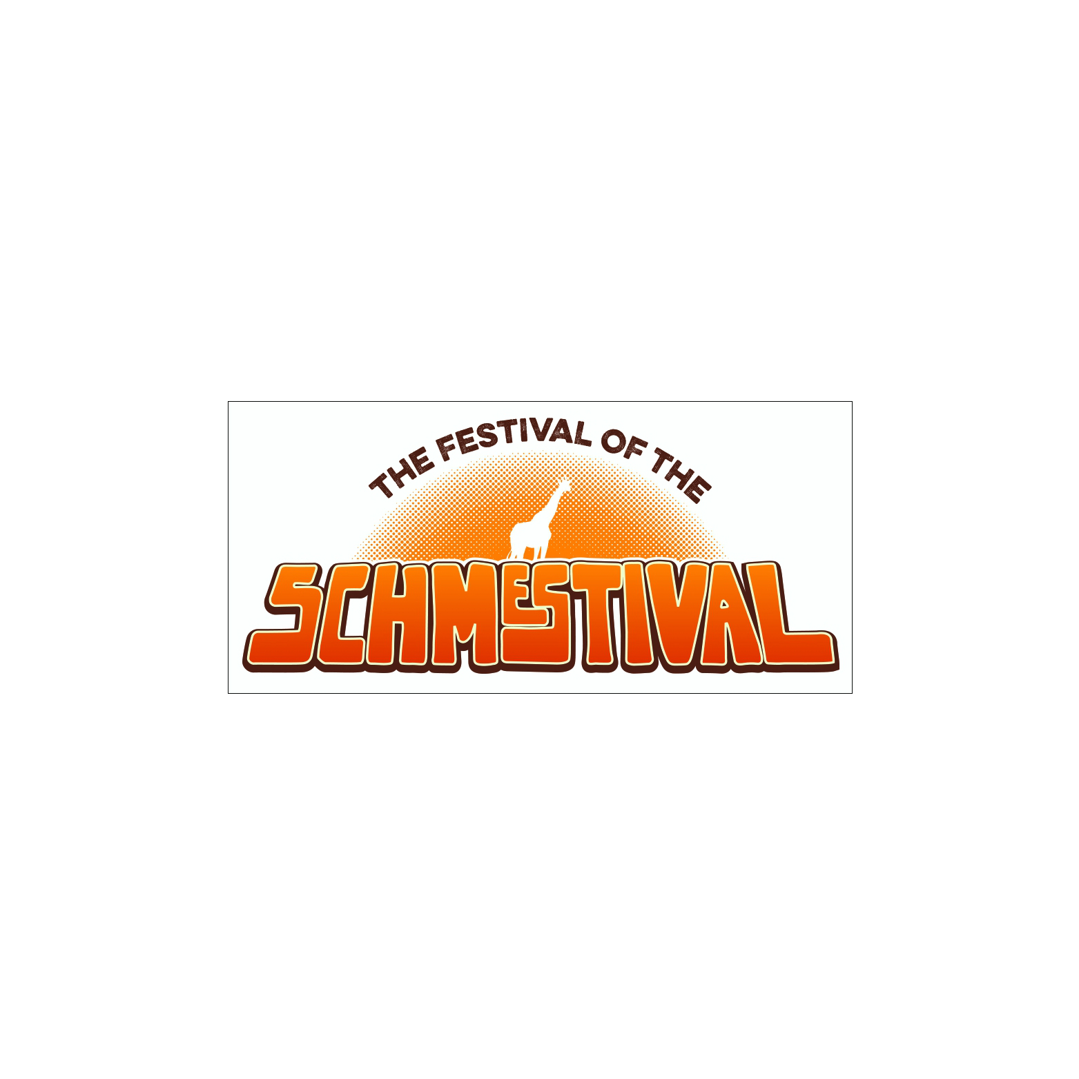 Schmestival Logo Bumper Sticker